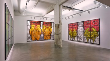 Contemporary art exhibition, Gilbert & George, THE BEARD PICTURES at Lehmann Maupin, Hong Kong