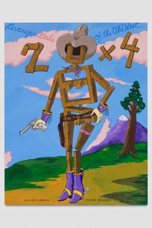 2 x 4 by Robert Colescott contemporary artwork