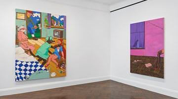 Contemporary art exhibition, Robert Colescott, Robert Colescott at Blum & Poe, New York