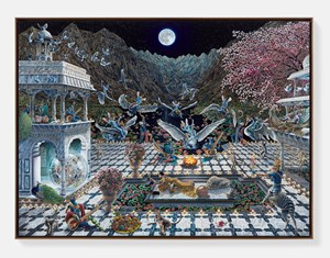 Ode to the Valley of Wonderment by Raqib Shaw contemporary artwork