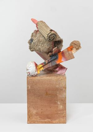 untitled: standup, 5 by Phyllida Barlow contemporary artwork sculpture