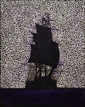 Untitled (FFITFFF) by Daniel Boyd contemporary artwork
