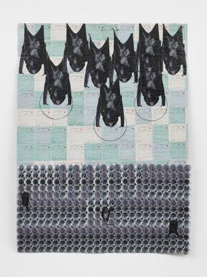Melt I by Ibrahim Mahama contemporary artwork