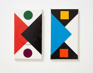 UNTITLED (PAIR) by John Nixon contemporary artwork