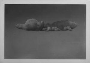 Untitled (Cloud Series) by Ali Kazim contemporary artwork