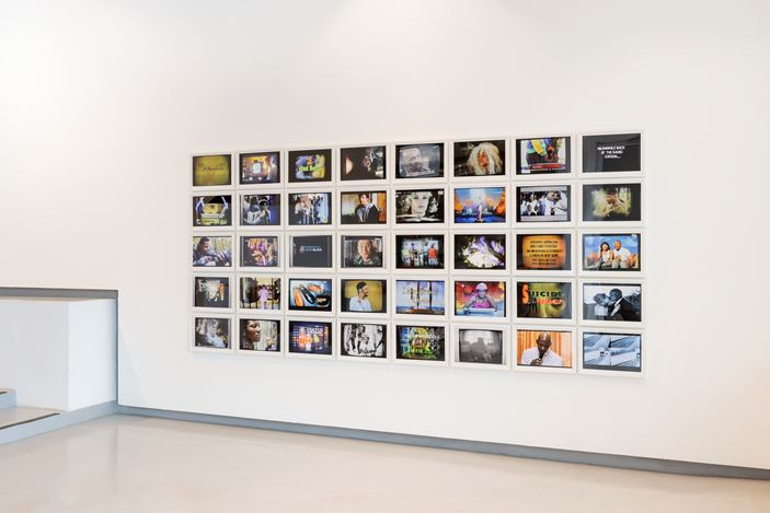 Exhibition view: Group Exhibition, The Wretched of the Screen, Goodman Gallery, Cape Town (25 June–24 August 2019). Courtesy Goodman Gallery.