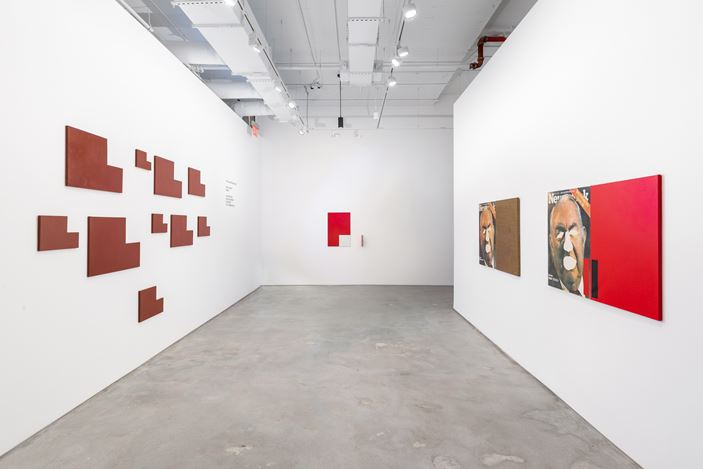 Exhibition view: Group Exhibition, Cross-cuts, Galeria Nara Roesler, New York (12 January–13 February 2021). Courtesy Galeria Nara Roesler. Photo: Charles Roussel.