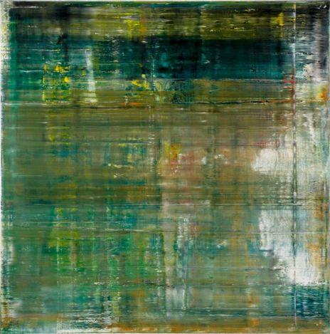 Gerhard Richter, Cage 1 (2006). Oil on canvas. 290 x 290 cm. © Gerhard Richter 2020 (05102020). Courtsey Gagosian.