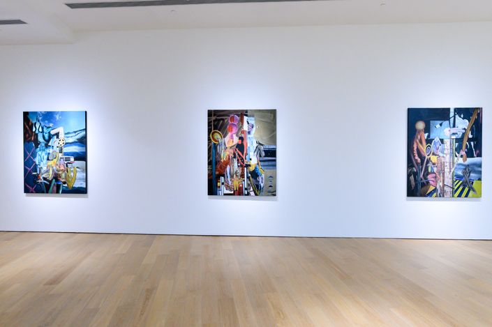 Exhibition view: Rodel Tapaya, Random Numbers, Tang contemporary Art, Hong Kong (22 April–15 May 2021). Courtesy Tang contemporary Art.