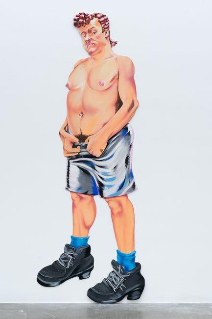 Gay Bar Bathroom Painting by Drake Carr contemporary artwork