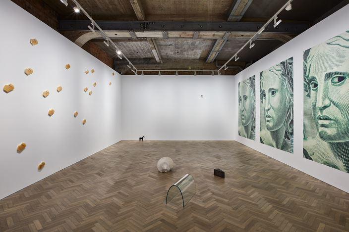 José Damasceno, RE: PÚBLICA, Thomas Dane Gallery, London (9 March–7 April 2018). Courtesy Thomas Dane Gallery.