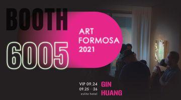 Contemporary art art fair, Art Formosa 2021 at Gin Huang Gallery, Taichung City, Taiwan