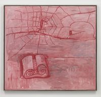 The Poet by Philip Guston contemporary artwork painting