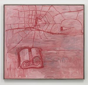 The Poet by Philip Guston contemporary artwork