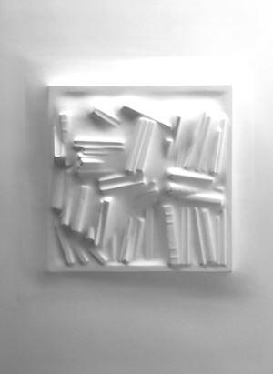 Gaps (Bookshelf) III by Loris Cecchini contemporary artwork