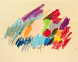 Untitled by Etel Adnan contemporary artwork