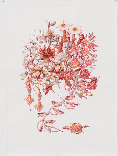 πολύπτωτου - de flore (I) by Miron Schmückle contemporary artwork