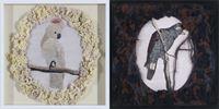 Jacob and Esau by Geraldine Javier contemporary artwork textile