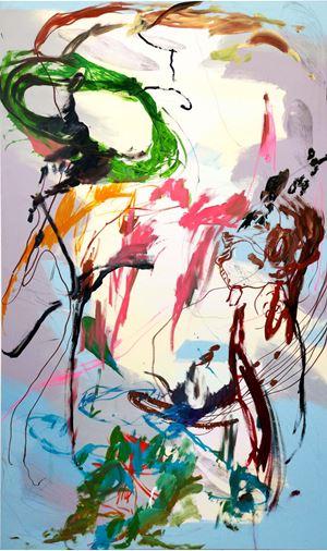 When He Was Writing the Song No.1 by Wang Xiyao contemporary artwork