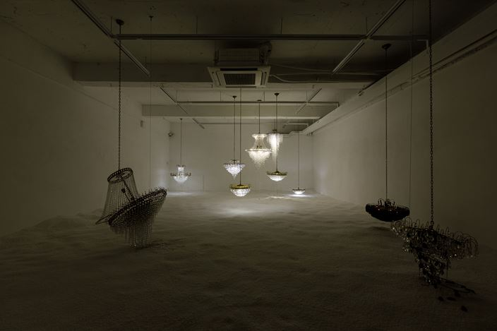 Exhibition view: Im Suniy, Floating Time, Breathing Words, Space So, Seoul (21 January–22 February 2021). Courtesy Space So.