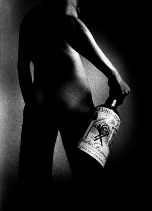 Male Nude 77 by Metka Vergnion contemporary artwork
