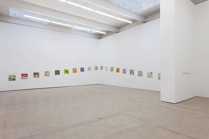 Exhibition view: Jack McConville, The Modern Institute, Aird's Lane, Glasgow (26 January–9 March 2019). Courtesy the artist and The Modern Institute/Toby Webster Ltd, Glasgow. Photo: Patrick Jameson.