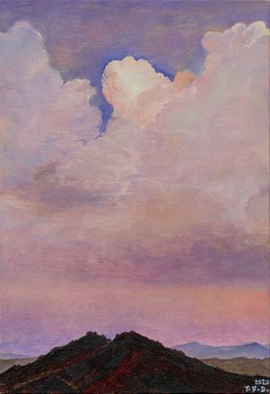 Endless Peaks - Propitious Clouds by Yang Fudong contemporary artwork