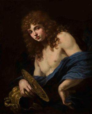 Portrait of the Marchese Luigi di Alberto Altoviti as Ganymede or Hylas by BALDASSARE FRANCESCHINI contemporary artwork painting