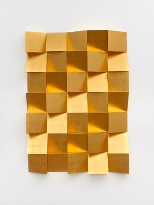 Anechoic Wall by Laurent Grasso contemporary artwork