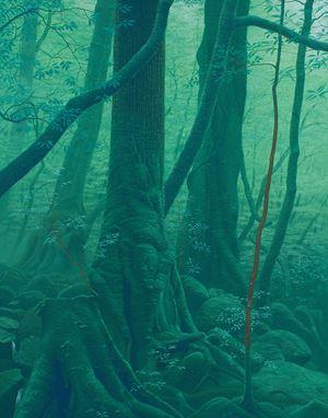 Two Trees by Kazuyuki Futagawa contemporary artwork
