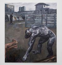 Angelus by Johann Louw contemporary artwork painting