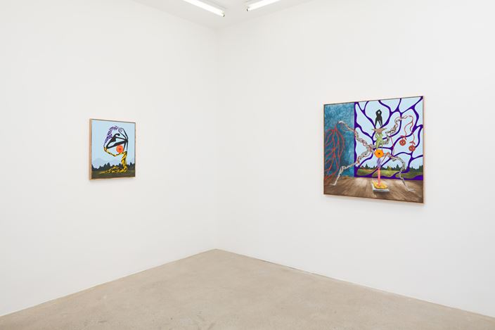 Exhibition view: Alejandro Cardenas, Calusa Garden, AE2, Los Angeles (8 June–13 July 2019). Courtesy Anat Ebgi, Los Angeles.