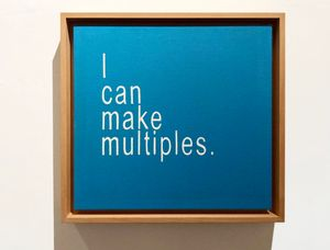 I Can Make Multiples 4 by David Boyce contemporary artwork