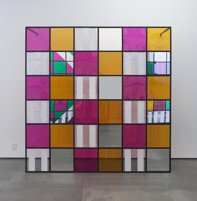 Photo-souvenir: Colors, light, projection, shadows, transparency: works in situ 6 by Daniel Buren contemporary artwork