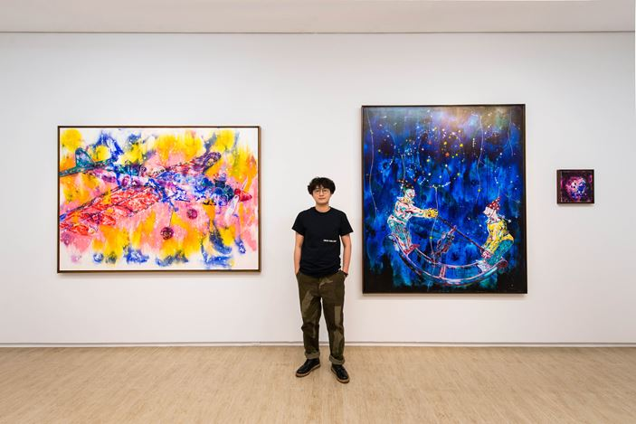 Exhibition view: Group Exhibition, Jōseki: The Contemporary elaboration of Classic formations of Art 對弈_往昔藝術的當代衍繹.Lin & Lin Gallery, Taipei (11 May–22 June 2019). Courtesy Lin & Lin Gallery.