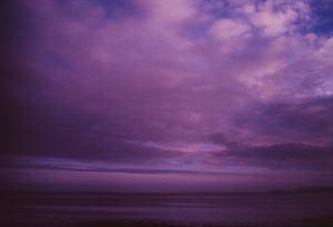 Lavender Landscape, Buncrana, Ireland by Nan Goldin contemporary artwork