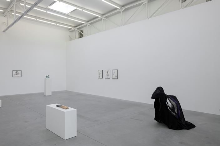 Exhibition view: Grace Schwindt, Silent Dance, Zeno X Gallery, Antwerp (7 March–28 April 2018). Courtesy Zeno X Gallery. Photo: Peter Cox.