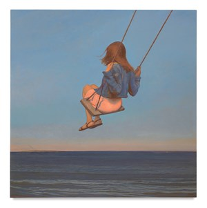 The Swing by Bo Bartlett contemporary artwork