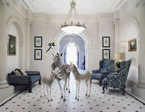 The Peers of the Realm, Entrance Hall by Karen Knorr contemporary artwork