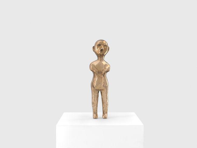 Brazilian Ex Voto Figure: 1 by Sherrie Levine contemporary artwork