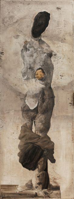 Pentesilea by Nicola Samorì contemporary artwork