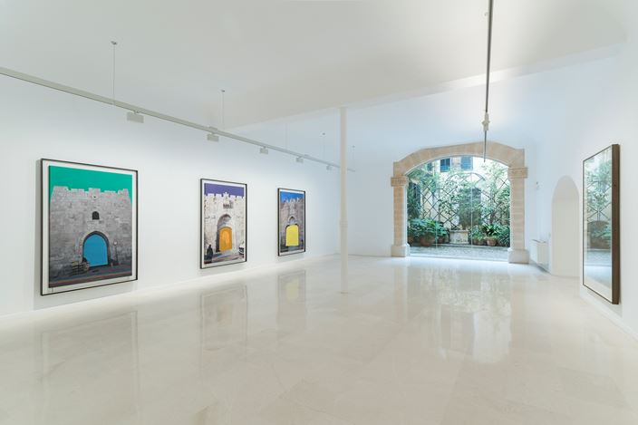 Exhibition view: Slater Bradley, The Gates of Many Colors, Galería Pelaires, Palma (20 March–10 September 2020). Courtesy Galería Pelaires. Photo: Grimalt de Blanch.