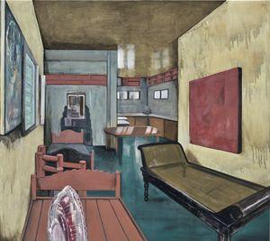 Changing Spaces I by Marina Cruz contemporary artwork