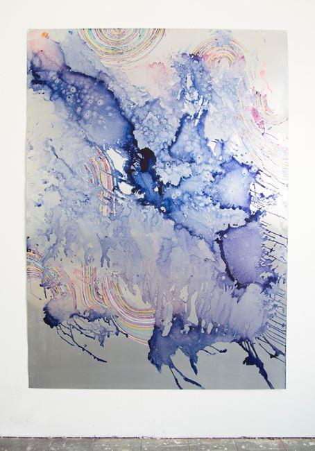 vom werden, dem fallenden by Myriam Holme contemporary artwork