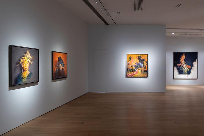 Exhibition view: Jonas Burgert, Ein Klang Lang, Tang Contemporary, Hong Kong (22 August–25 September 2019). Courtesy Tang Contemporary.