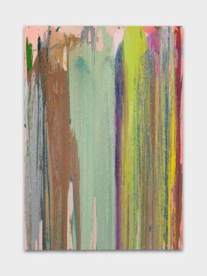 Golden Shiner by John M Armleder contemporary artwork