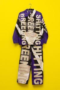 Pyjamas by Mikala Dwyer contemporary artwork sculpture