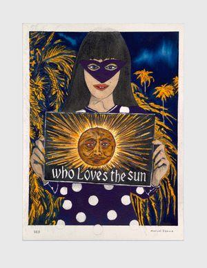Everyone loves the sun… by Marcel Dzama contemporary artwork