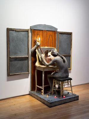 The Grey Window Becoming by Edward Kienholz and Nancy Reddin Kienholz contemporary artwork