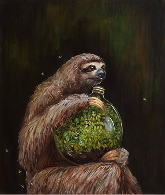 Late Bloomer by Joanna Braithwaite contemporary artwork